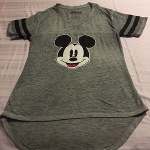V Neck Mickey Mouse t-shirt